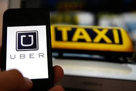 imagen uber taxi